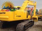 Excavador de la correa eslabonada de KOMATSU PC220-6 de las buenas condiciones para la venta