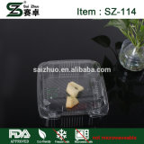 Custom comida fast food Hamburger Sushi de plástico descartáveis Lunch Box