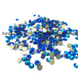 2088 оптовый Rhinestone Hotfix плоской задней части качества стекла 5A Non кристаллический (E-058 ss20capri голубой ab)