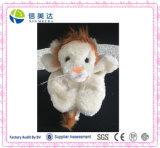 관례에 의하여 채워지는 연약한 아이 견면 벨벳 장난감 아기 인형 꼭두각시 견면 벨벳 장난감