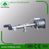 Écume/écran court de tambour rotatoire d'enlèvement de fibre à l'installation de traitement d'eaux d'égout