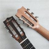 Aiersi 상표 28 인치 자바 흑단 Guitarlele 6 끈 Ukelele