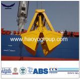 Compartimientos teledirigidos de radio del gancho agarrador de la grúa de la nave del gancho agarrador para la venta