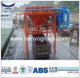 50 Cbm Portstaubkammer-Klinker-Zufuhrbehälter mit Rädern