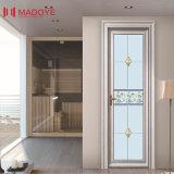 装飾的なパターンが付いている省エネの開き窓のドア