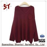 Novo vestuário de malha mulheres camisolas