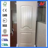 Non-Painted ecológico de la puerta de melamina madera interior de la piel (JHK-MN08)