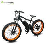 """26 """" 1000W 기어 모터를 가진 뚱뚱한 타이어 산 전기 자전거"""