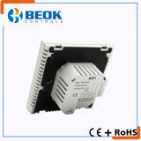 Regulador elegante de la temperatura ambiente del termóstato del aparato electrodoméstico para la calefacción de suelo