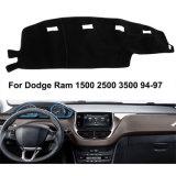 Tapete de painel de bordo Car Dashmat tampa da placa do painel de instrumentos para Dodge Ram 1500 2500 3500 histológicas 94-97