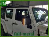 Coperchio dello specchio con l'indicatore luminoso di segnale del LED per il Wrangler 2007-2017 della jeep