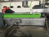 Parafuso único extrusor de Pelotização e reciclagem de plásticos para flocos