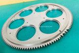 Wedm 철사 절단을 도는 주문을 받아서 만들어진 정밀도 기계로 가공 부속 비표준 기어 40cr CNC