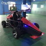 車のゲーム・マシンを運転するバーチャルリアリティのシミュレーターVr