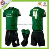 Le football rayé Jersey d'équipe nationale de la Thaïlande d'impression bon marché faite sur commande de sublimation