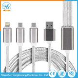 Tipo personalizado-C/Lightning/ cabo do carregador de dados Micro USB Cabos móveis