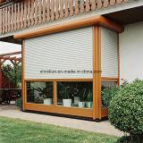Aluminiumlegierung-Rollen-Blendenverschluss-Fenster