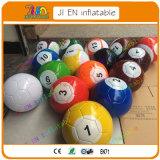 8X5pied football gonflable X0.5mh billard Boules Snook, piscine gonflable de football de table de snooker Jeux de sport