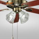 52 인치 박 거대한 수정같은 가벼운 목제 장식적인 천장 선풍기