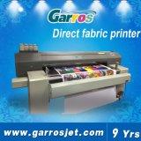 Rápida velocidad de la correa de gran formato Impresoras textiles Ajet-1604P con 4 cabezales de impresión