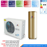 Salle de chauffage 10kw/15kw/20kw/25kw Evi Pompe à chaleur de l'eau de l'eau