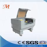 Double machine de gravure de laser de tête pour le bracelet en caoutchouc (JM-640T)