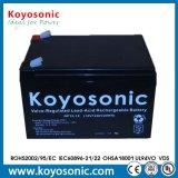 manutenção gratuita Pilha Recarregável bateria VRLA 12V 7Ah Bateria UPS do MGA