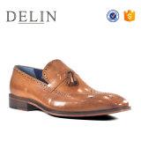 Gentleman Style Hommes Chaussures Oxford robe en cuir véritable