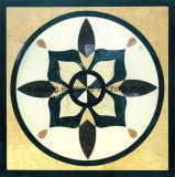 De decoratieve Marmeren Straal van het Water van het Medaillon voor de Tegel van de Bevloering van de Zaal