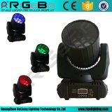 12pcs*10W laver la tête mobile lumière à LED