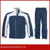 L'usine de Guangzhou conçoivent le fournisseur en fonction du client d'usure de survêtement de sport (T64)