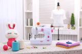 Goccia-in bobina facile cucire il mini prezzo di fabbrica della macchina per cucire della famiglia con la Tabella (FHSM-508)