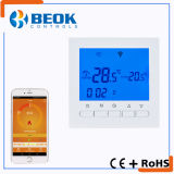 Termóstato de la caldera de gas del control de la temperatura ambiente del LCD para la calefacción de suelo