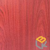 Papel impregnado melamina decorativa del grano de madera de roble del oro para los muebles del fabricante chino