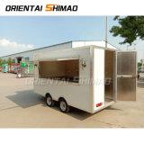 Nouvelle concession Stand remorque cuisine mobile de la crème glacée alimentaire Van