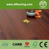 Salida del sol de bambú lisa y pintada de Strandwoven del suelo