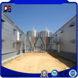 Camera di pollo d'acciaio delle costruzioni di blocco per grafici d'acciaio da vendere