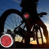 Перезаряжаемые света Bike СИД установили - свет после того как велосипеда комбинаций СИД Taillight фары они установлены (батарея лития 650mAh)