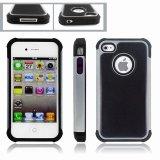 Teléfono celular caso para el iPhone 4S Combinated Triple Tapa dura (TX-Combo0020)