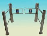 Peatonal automática de giro supermercado barrera de entrada puerta con sistema de control de acceso torniquete