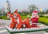 팽창식 장난감 (크리스마스 사슴 & 산타클로스) (S0010)