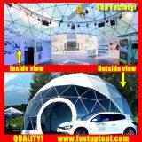 Transparent en PVC blanc 2018 nouveau dôme géodésique tente