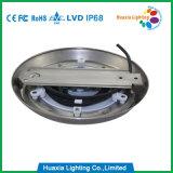 Lumière sous-marine de syndicat de prix ferme de l'acier inoxydable 35W RVB