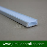 Flat Slim LED Alu Profile pour LED Tape Ribbon Strip
