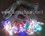 Lumière de Noël LED avec de l'acrylique de mélange