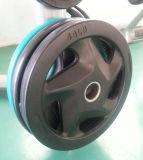 Placa revestida de goma del peso de 5 orificios (SA16-A)