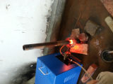 Het Verwarmen van het Smeedstuk van de Staaf van het Metaal van de magnetische Inductie Machine