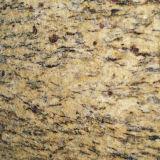 De Kerstman Cecilia Granite Slab van Giallo voor Countertop