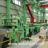 Stahlausschnitt und scherende Maschinen-Zeile