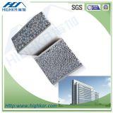 GV e painel de parede certificado ISO do material de construção/painel acústico